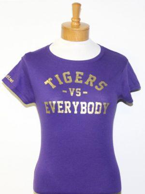 TigersVsEverybodyWomenPurpleGold'
