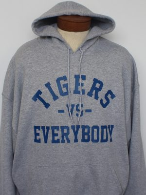 grey Tigers Vs Everybody Hoodie