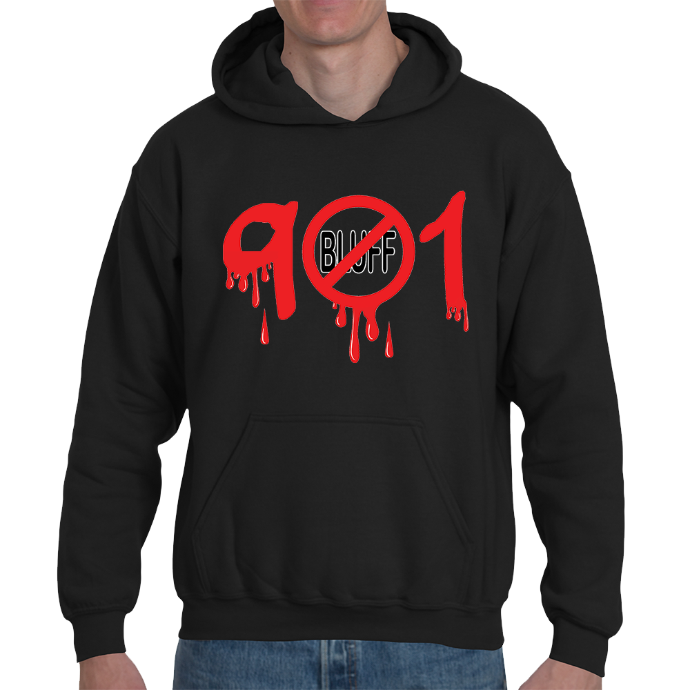 901Bluff--Blood-Hoodie---Black