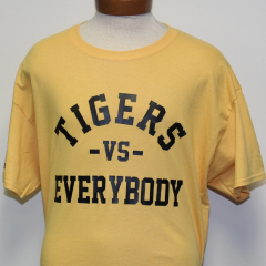 Tigers Vs Everybody T-shirt (Gold/Black)