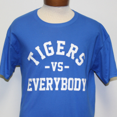 Tigers Vs Everybody T-shirt (Blue/White)