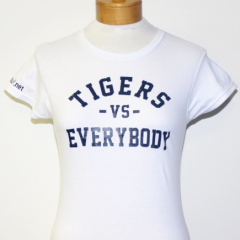 Tigers Vs Everybody-Women (White/Navy)