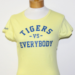 Tigers Vs Everybody-Women (Gold/Blue)