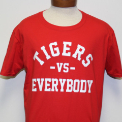 Tigers Vs Everybody T-shirt (Red/White)
