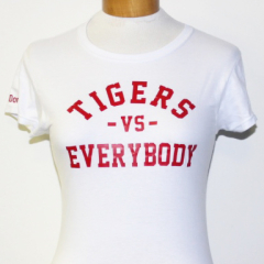 Tigers Vs Everybody-Women (White/Red)