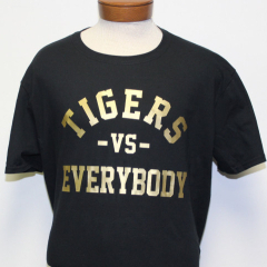 Tigers Vs Everybody T-shirt (Black/Gold)
