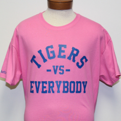 Tigers Vs Everybody T-shirt (Pink/Blue)