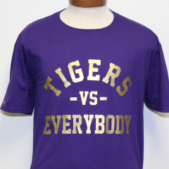 Tigers Vs Everybody – Purple & Gold