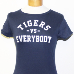 Tigers Vs Everybody-Women (Navy/White)