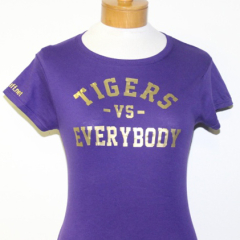 Tigers Vs Everybody-Women (Purple/Gold)