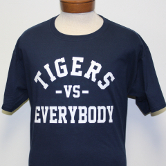 Tigers Vs Everybody T-shirt (Navy/White)