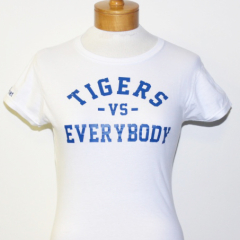 Tigers Vs Everybody-Women (White/Royal)