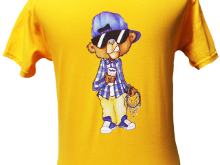 Og Grizz Gold Youth Tee